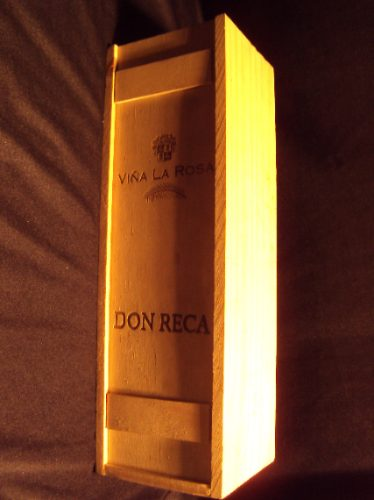 Caja De Vino Madera Via La Rosa 6000 en Mercado Libre
