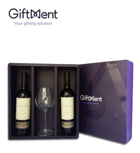 caja de vinos dv catena malbec   regalos cumpleaños