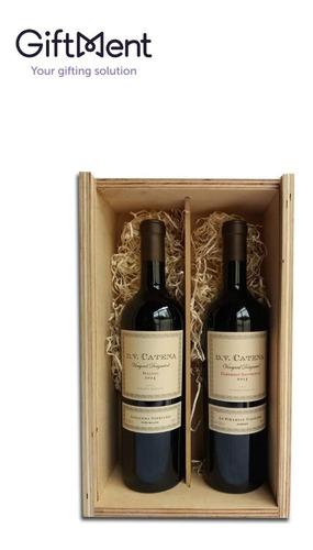 caja de  vinos dv catena nicasia regalos