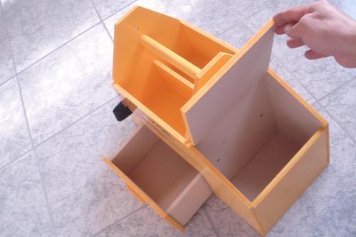 caja de vuelo terminada decorada con herradura hay stock