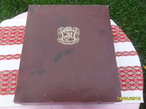 caja de whisky chivas regal interior pana con detalle
