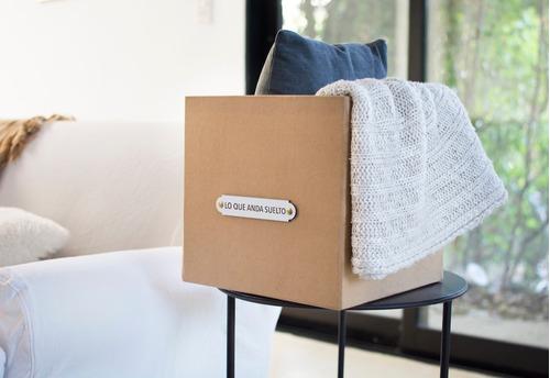 caja decorativa organizador de espacios 'lo que anda suelto'