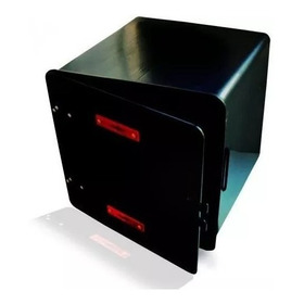 Caja Delivery Pizza Super Negra 41x41x41 Rpm-1240
