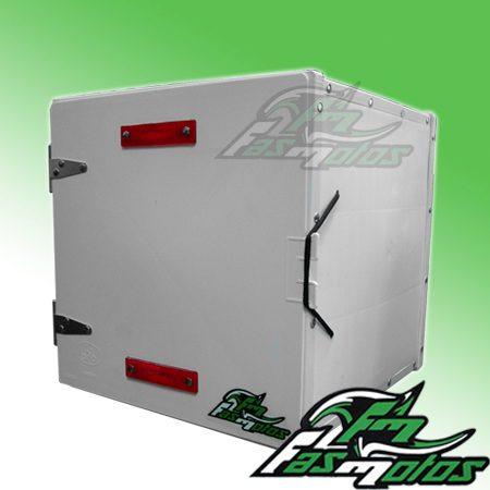 caja delivery reparto grande negra o blanca pizza fas motos