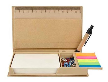 caja despachadora porta notas de colores ecológica