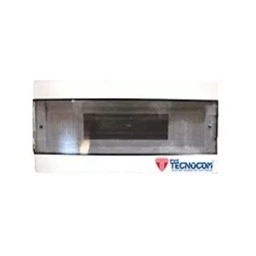 caja din 2 a 4 bocas tapa fume embutir tecnocom