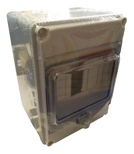 caja din ip65 p/4 polos conextube