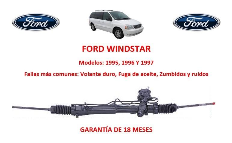 Caja Direccion Hidraulica Cremallera Ford Windstar D Nq Np Mlm F