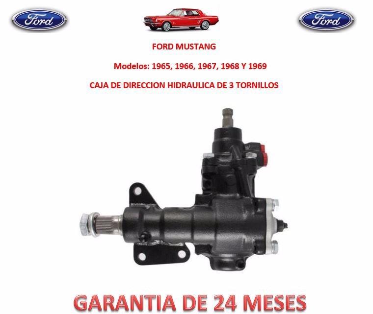 Caja Direccion Hidraulica Sinfín Ford Mustang 1966 A 1969 ...