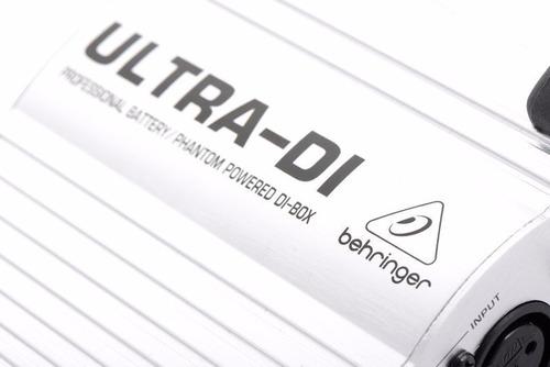 caja directa activa behringer ultra di di100