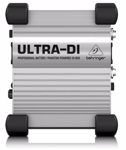 caja directa activa behringer ultra-di di100