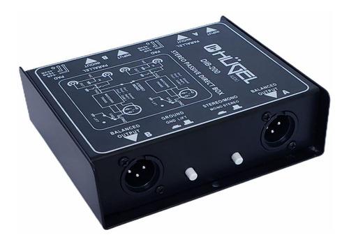 caja directa pasiva hügel plug xlr dual dib-200 cuota