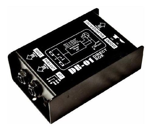 caja directa pasiva moon db 01 direct box sonido dj esdj