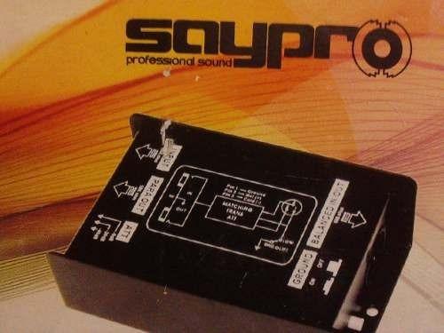 caja directa profesional pasiva saypro sa-db1 - audiotech.