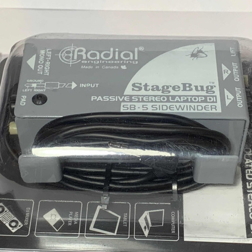 caja directa sb-5 mini plug para laptops celulares y tablets