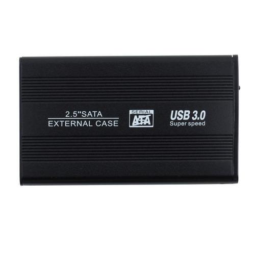 caja disco duro sata usb 3.0 2.5 pulgadas externa rack hd