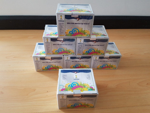 caja display panini brasil 2014 envio gratis italiana