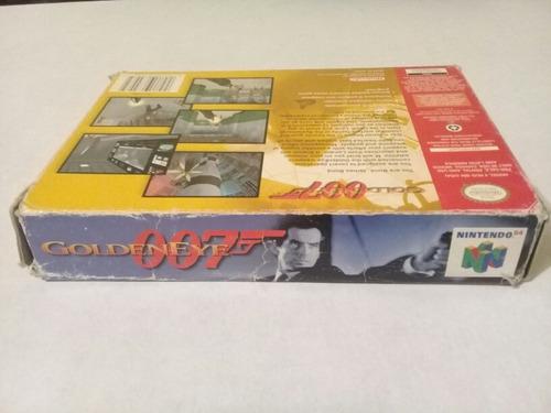 caja e instructivo originales de goldeneye 007 nintendo 64