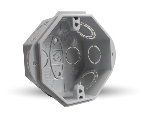 caja embutir pvc octogonal x150 unid - genrod - tofema