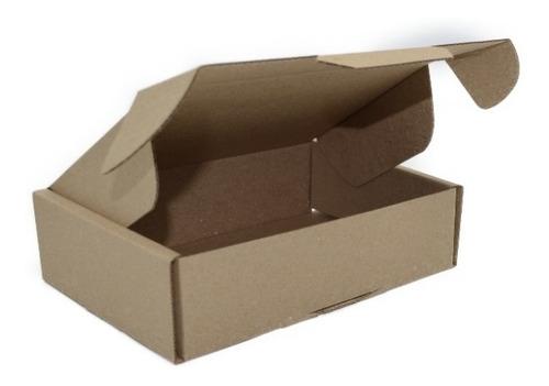 caja empaque envíos carton microcorrugado 19x13x5cm, 50pzs