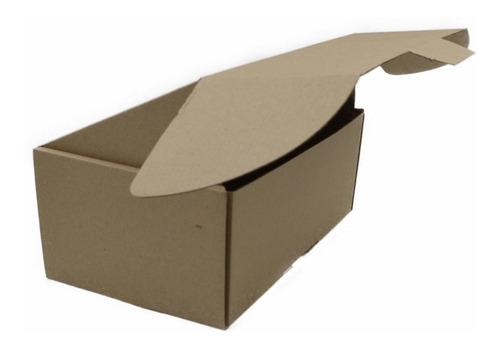caja empaque envíos carton microcorrugado 25x15x10cm, 50pzs