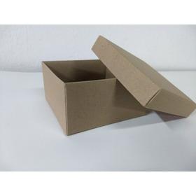 Caja En Base Y Tapa Blanca O Kraft Lenceria Mallas Pack X 10