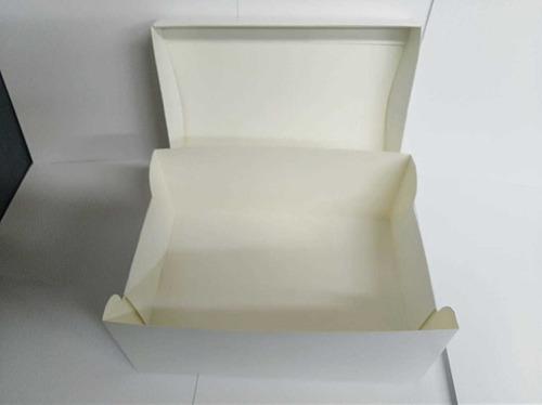 caja en cartón  ecológico. (alimentos y detalles).