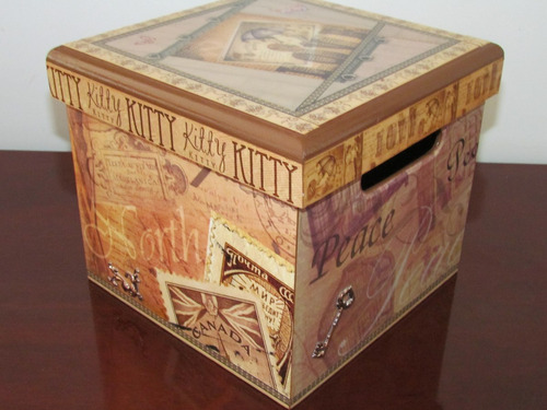 Caja en madera para esmaltes en mercado libre - Esmalte para madera ...