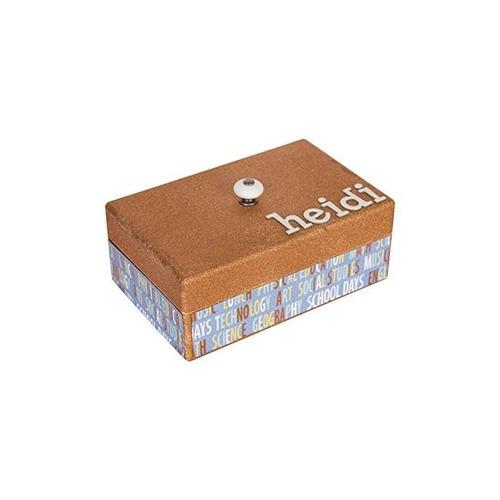 caja espaciosa de madera sin terminar de walnut hollow con t