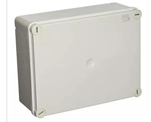 caja estanca abb® ip65 22x17x9cm tornillos y tapa a presión