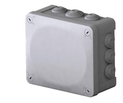 caja estanca ip65 cctv, o alarmas  175x150x80mm con conos