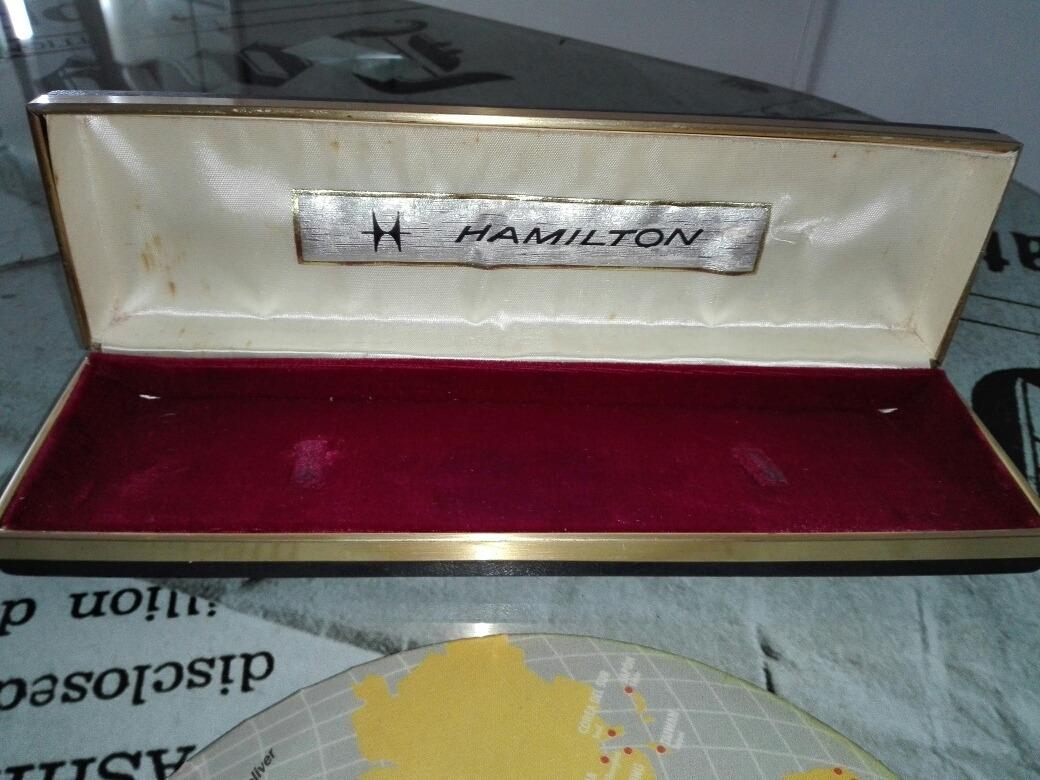 Caja Estuche Reloj Vintage3 650 Hamilton 00 b7gyfI6Yv