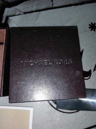 caja estuche reloj michael kors
