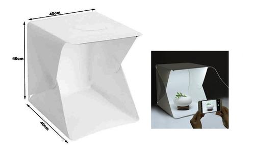 caja estudio fotografico portatil 40x40x40 cm