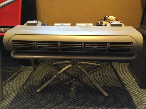 caja evaporadora universal doble con comandos 12v 680x300 cm