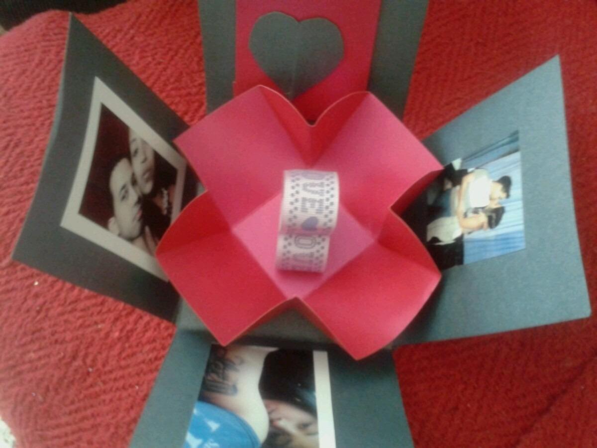 Caja explosiva regalo para el d a de los enamorados bs - Sorpresas para enamorados ...