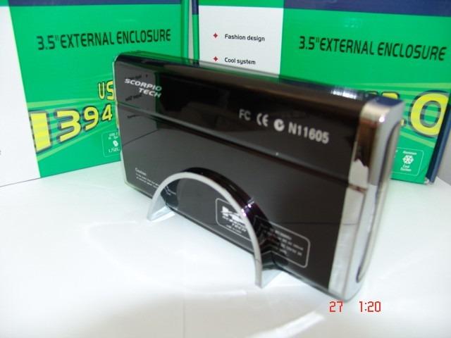 e511a176248 Caja Externa Para Disco Duro Ide 3.5 En Aluminio - $ 34.000 en ...