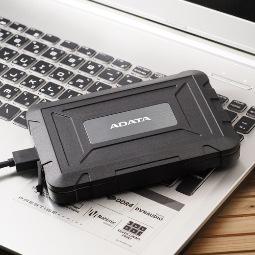 caja externa usb 3.1 adata ed600 para disco duro 2.5'' / ssd