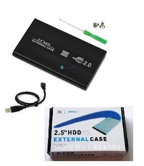 caja externa usb disco duro portatil pc sata ide 2.5 metal