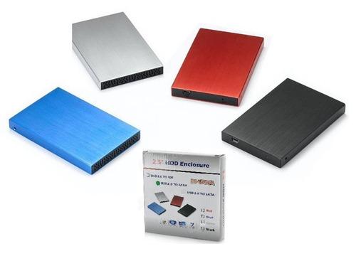 caja externa usb para disco duro de portátil sata de 2.5''