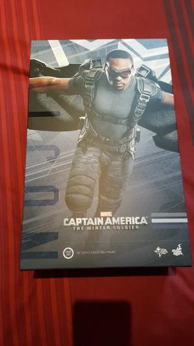 caja falcon capitan america  hot toys