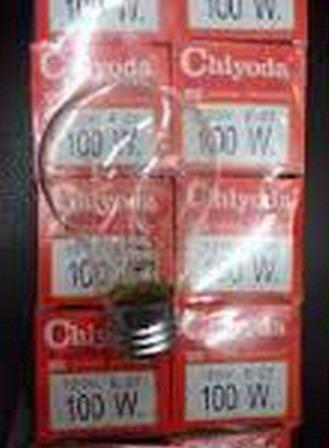 Caja Foco Incandecente Chiyoda 100 Watts 10pzas Y Garantia ...