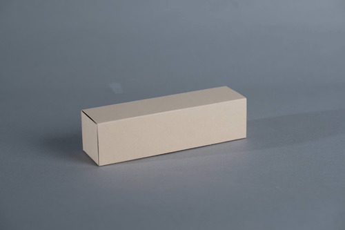 caja fosforera 21x5,5x5,5 cm (x 50 u.)  +/- 8 macarons alfajores - bauletto