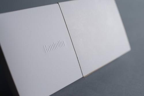 caja fosforera rectangular chica 11,1 x 9,5 x 3,4 cm (x 50 u.) 12 bombones trufas chocolate - bauletto