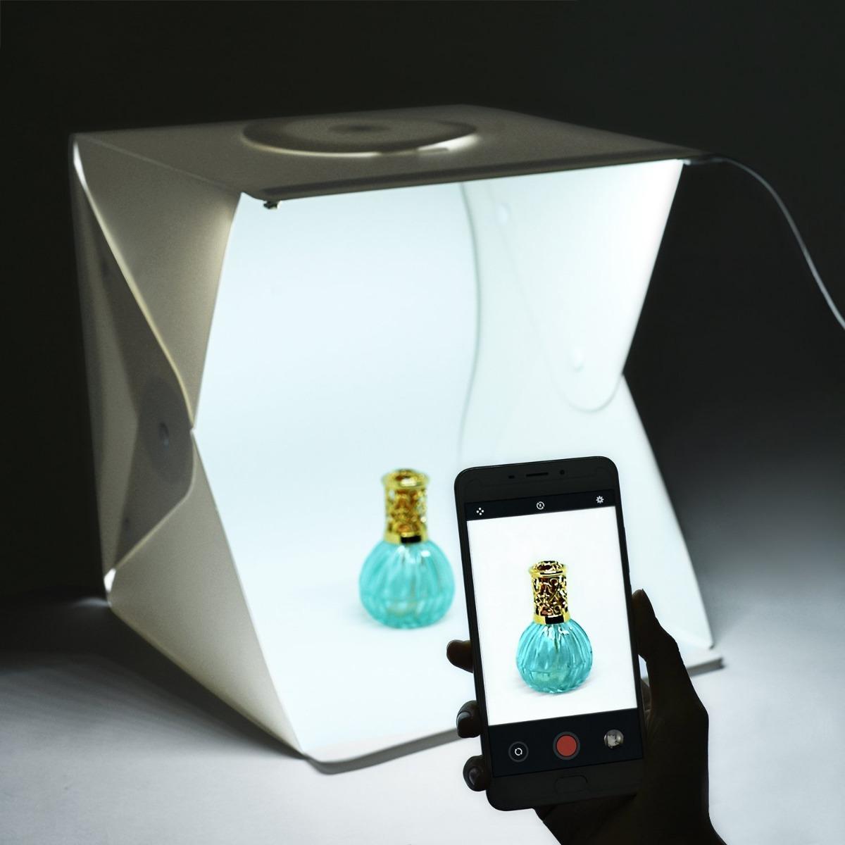 Caja Fotografica Portable Zenic Iluminacion Led Fotografia ...