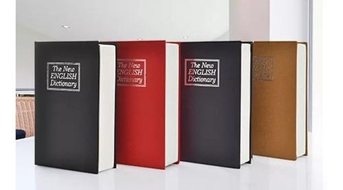 caja fuerte cofre de seguridad forma libro