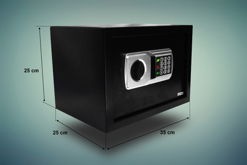 caja fuerte con dos pasadores electronica alta resistencia