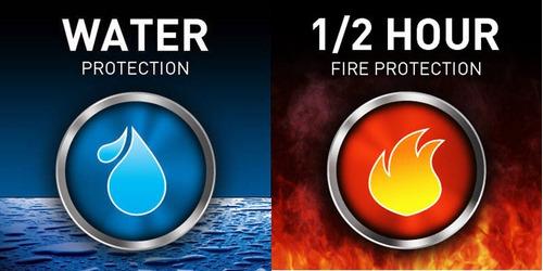 caja fuerte contra incendio / agua sentry safe gratis envio