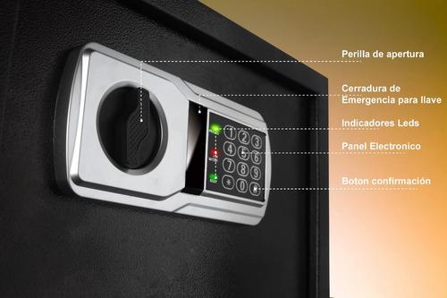 caja fuerte de acero electronica digital impenetrable segura