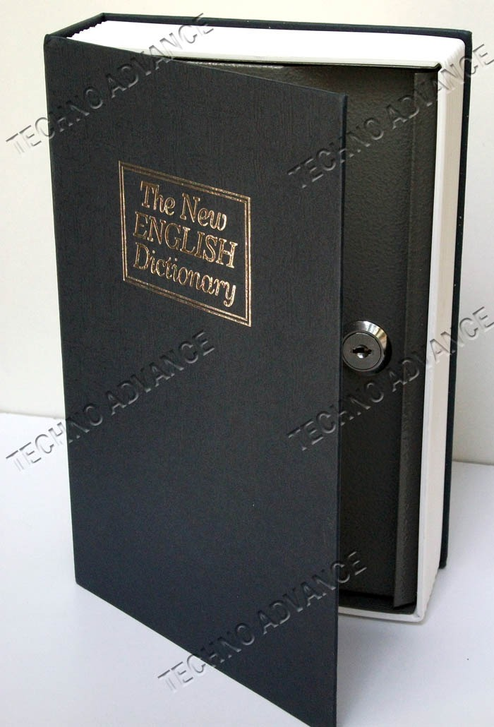 Caja fuerte de seguridad camuflada libro interior acero - Caja fuerte precios ...